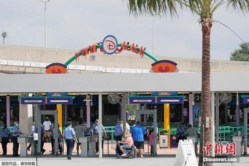 美国奥兰多迪士尼乐园重新开放
