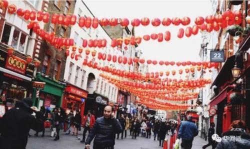 ▲封锁前的伦敦中国城(英国《华闻周刊》)
