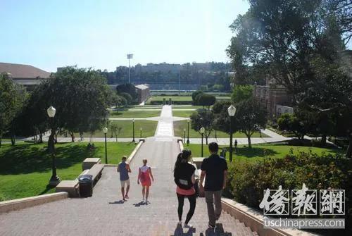 资料图:美国加州大学洛杉矶分校。(美国《侨报》/李青蔚 摄)