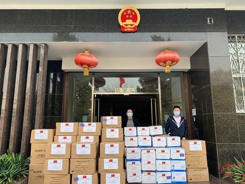 图片来源:中国驻阿根廷大使馆网站。