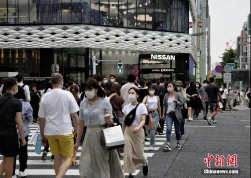 资料图:当地时间6月6日,日本东京街头。<a target='_blank' href='http://www.chinanews.com/'>中新社</a>记者 吕少威 摄