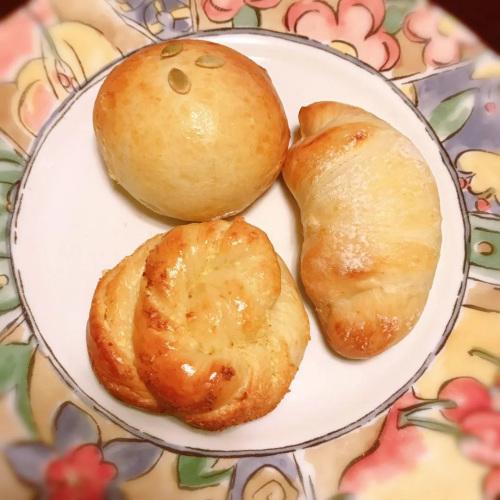 小雨做的面包。(受访者供图)