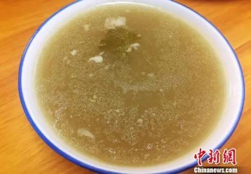 台山人的家常味道――老江菜汤。李晓春 摄