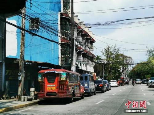 6月21日,马尼拉公共交通吉普尼做好复业准备。<a target='_blank' href='http://www.chinanews.com/'>中新社</a>记者 关向东 摄