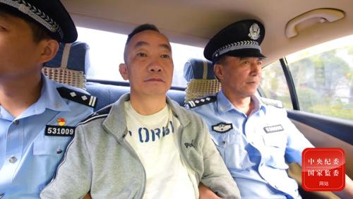 2018年5月30日,在中央追逃办协调指导下,云南省追逃办经多方努力将潜逃人员蒋兆岗抓获。