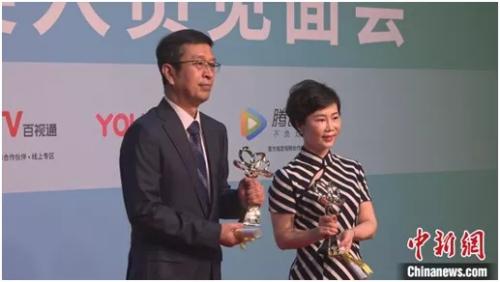 《长安十二时辰》《都挺好》获得第26届上海电视节国际传播奖 康玉湛 摄