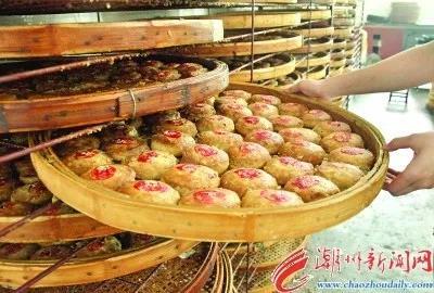 潮州点心意溪朥饼。潮州日报/黄春生 摄