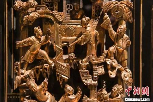 资料图:潮州木雕。余冠辰 摄