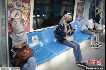资料图:疫情下的马来西亚公共交通