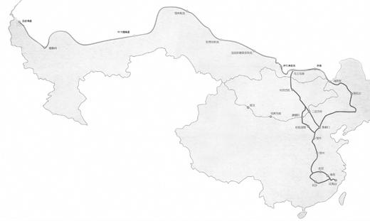 地图 简笔画 手绘 线稿 520_311
