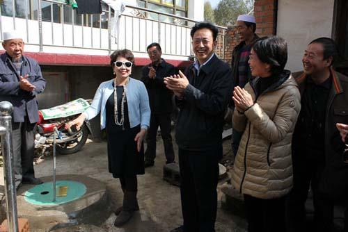 甘肃外事办联动外侨资源 为乡村捐建水源项目