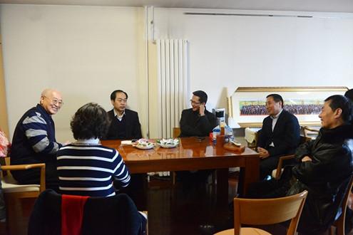 北京市侨联走访侨界代表人士 慰问困难归侨(图)