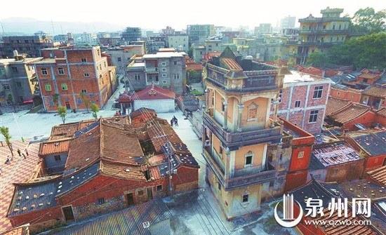 侨乡晋江梧林社区华侨建筑群 见证峥嵘岁月