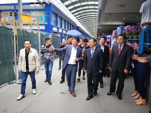 北京侨办访问团走进保加利亚索菲亚 寻合作机遇