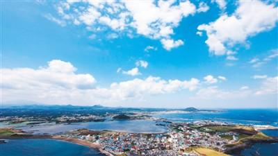 图为韩国济州岛风光. 资料图片