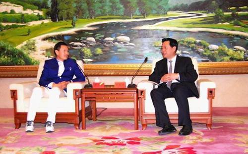 河北省副省长王晓东会见海外侨商代表团