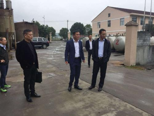 温州市副市长调研侨企 了解企业运行发展情况