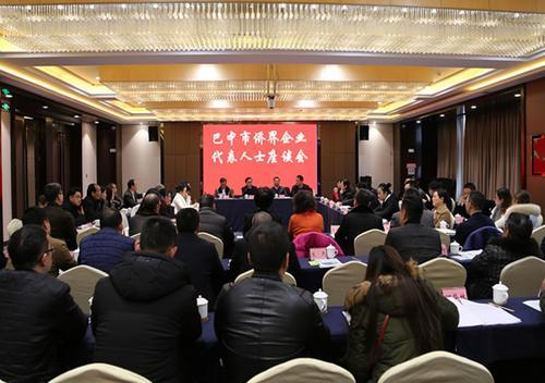 中国侨网座谈会现场