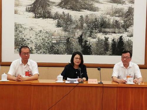 中国侨网代表团。