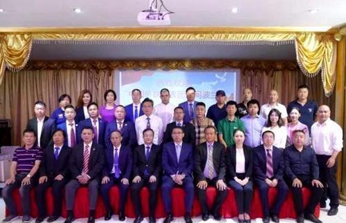 中国侨务代表团访问波兰宣讲新中国发展成果