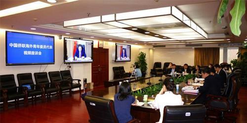 中国雷竞技举办青委会海外委员代表视频交流座谈会