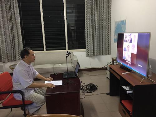中国驻萨摩亚大使指导在萨侨胞做好疫情防控工作