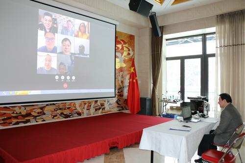驻保加利亚使馆与旅保侨团代表进行网络交流