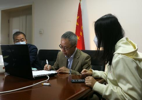 驻意大利大使视频连线中国留学生传递祖国关爱