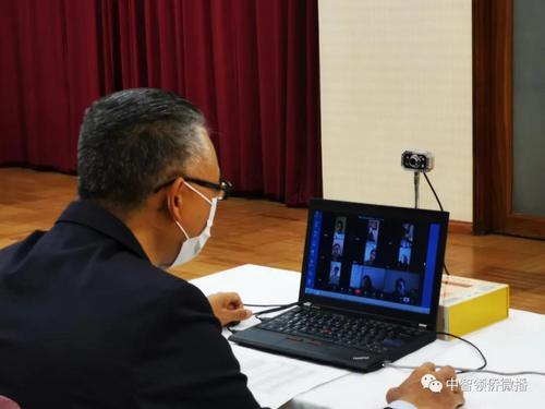 驻智利大使与在智中国留学生举行视频会议