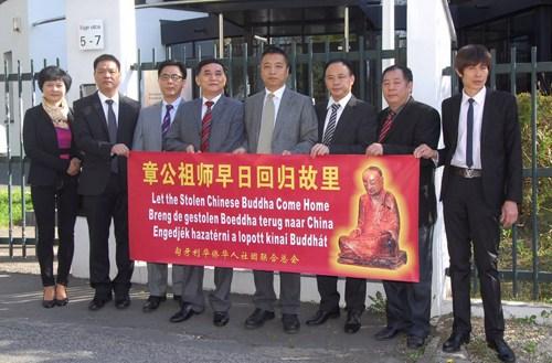 肉身坐佛收藏人联络侨团称愿与中国官方机构洽谈