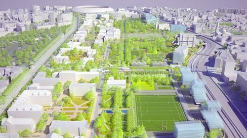 未来巴黎大学城增建设计图.(图片来源:《费加罗报》)