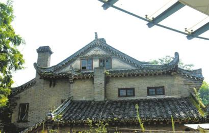 四川大学华西医学中心校南路7号的苏继贤旧居。