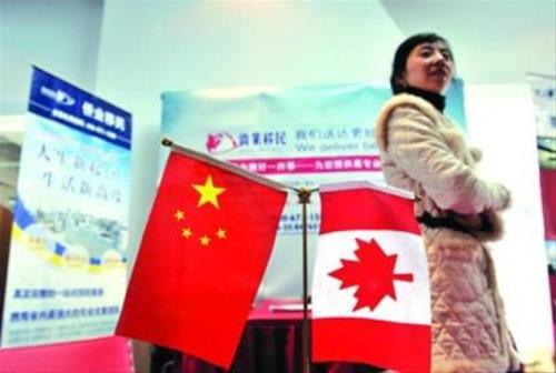 来自中国的移民数量下滑,今年已降至第四位。(加拿大《世界日报》)