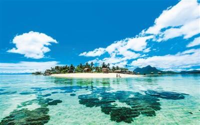 中国侨网马来西亚仙本那岛 资料图片
