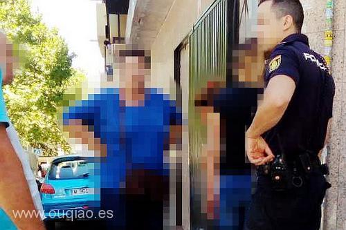中国侨网女贼被抓。(西班牙欧侨讯播报)