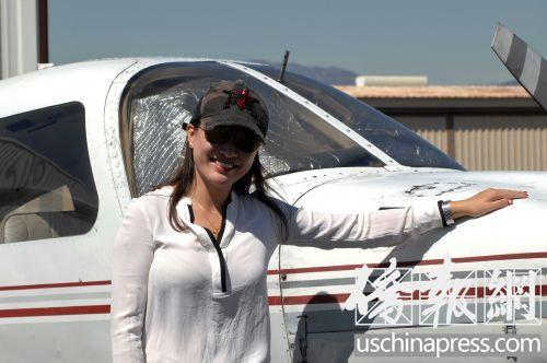 不过通过学开飞机,我的英语是进步很快,教官,教材全部是英文,很专业