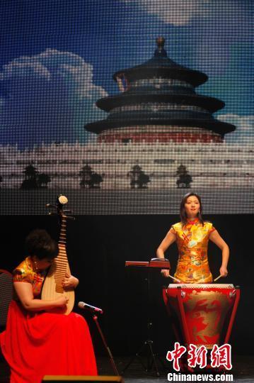中国侨网 图为民乐合奏《京韵》。 余瑞冬 摄