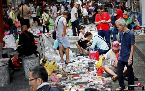 新加坡唐人街旧货市场结束营业摊贩无奈失谋生地