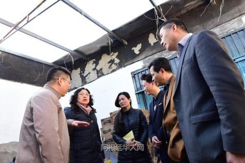 阿根廷一华人超市遭遇火灾中使馆与华助中心相助