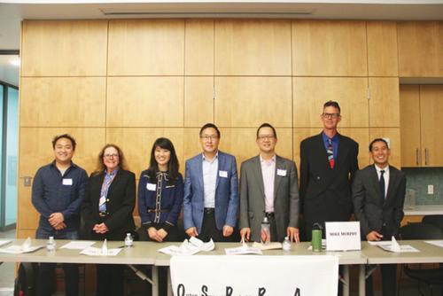 旧金山七位候选人将迎议员选举华裔为竞选热身