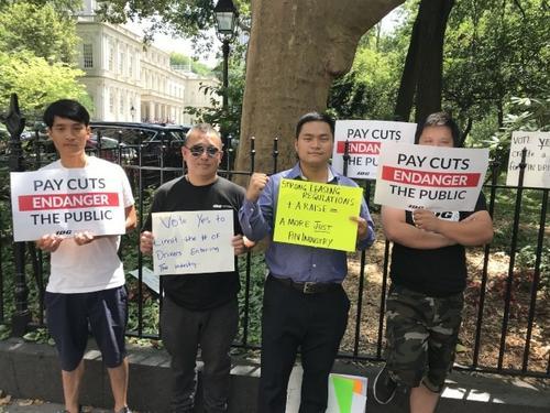 纽约独立司机工会为华人司机谋福利助其争取权益