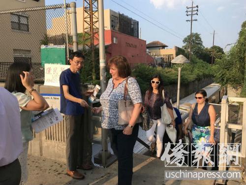 纽约华裔居民联盟参与选民登记呼吁华社发声