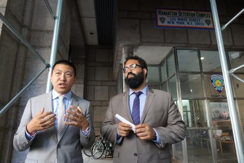 纽约新监狱建造团队赴华埠沟通希望获得华社理解