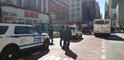 纽约华埠突现炸弹威胁警方判定疑似恐袭案件