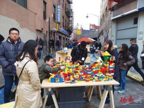 纽约华埠举办万圣节庆祝活动借机传播中华文化