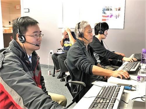 美华裔竞选马萨诸塞州州长华人组团奔赴竞选部助选