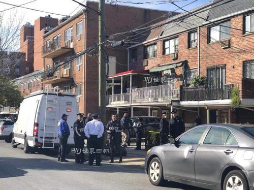 纽约法拉盛发生凶杀案华裔夫妻家中被刺身亡