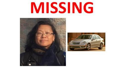 美国华裔女子失联死于自己车内警方吁公众协助调查