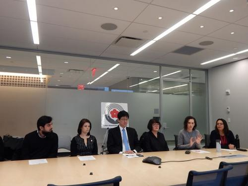 纽约市长移民事务办公室举行说明会解析公共负担
