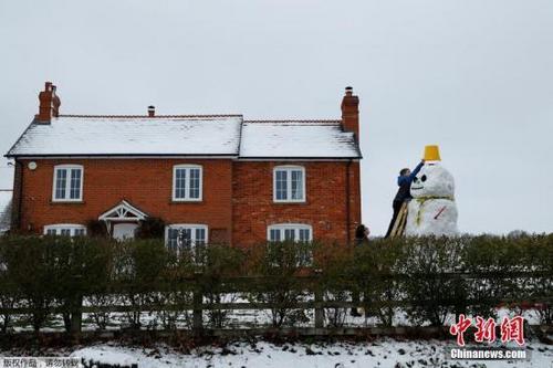 中国侨网资料图:英国房屋。